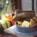 写真: 金の釜飯