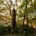 写真: 十三重石塔