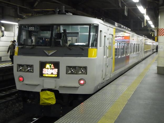 高崎線 185系 あかぎ表記