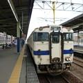 佐賀駅に停車中の普通列車唐津行き