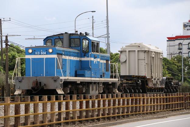 京葉臨海鉄道KD60 4+シキ180 特大貨物