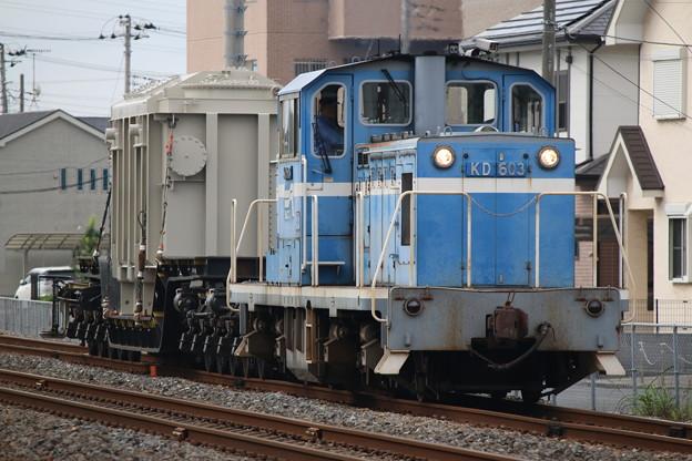京葉臨海鉄道KD60 3+シキ180 特大貨物