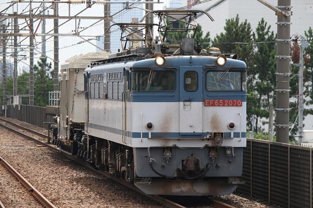 EF65 2070+シキ180 特大貨物