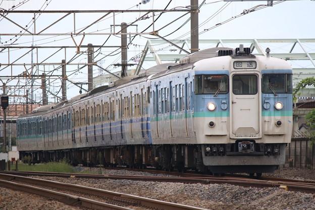 115系1000番台 新ニイL99+N37編成 入場回送