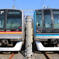 東葉高速鉄道2000系 2101F(東葉快速 津田沼)・東西線15000系 15111F(快速 葛西)