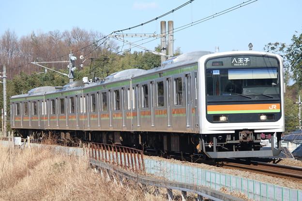 写真: 川越・八高線209系3000番台 ハエ62編成