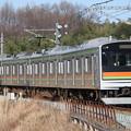 川越・八高線205系3000番台 ハエ83編成