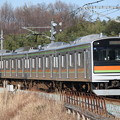写真: 川越・八高線205系3000番台 ハエ83編成