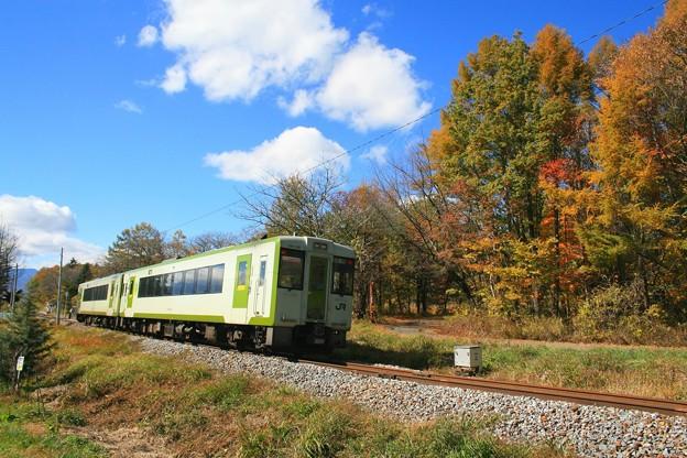 秋の高原列車