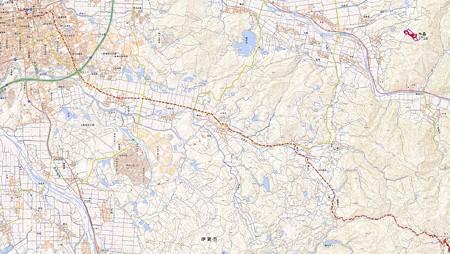 坂下→平楽寺map