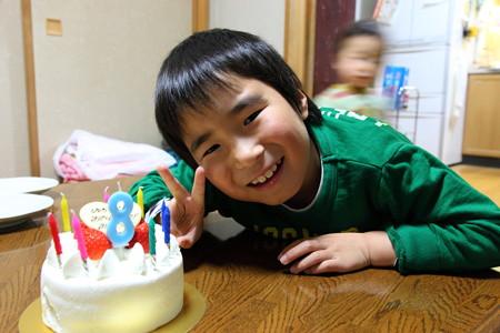 8歳誕生日おめでとう