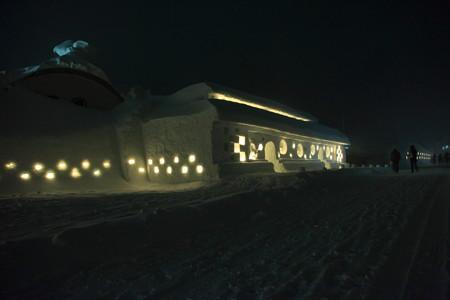 雪旅籠の灯り開催