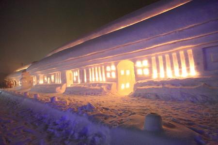 雪旅籠本殿