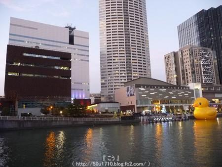 141223-大阪ほたるまち ラバーダック (4)