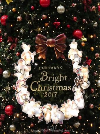 171112-ランドマークタワー クリスマスツリー (28)