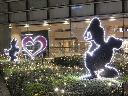 171129-クイーンズスクエア クリスマスイルミ (10)