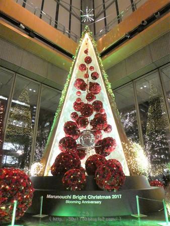 171207-クリスマスツリー 丸ビル (15)