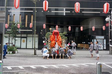 04 2014年 博多祇園山笠 舁き山 猩々酒宴壽 中洲流 ( 移動中 ) (3)
