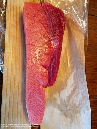 魚幸水産で買った大トロ