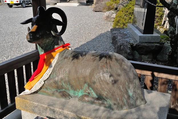 法輪寺の羊さん
