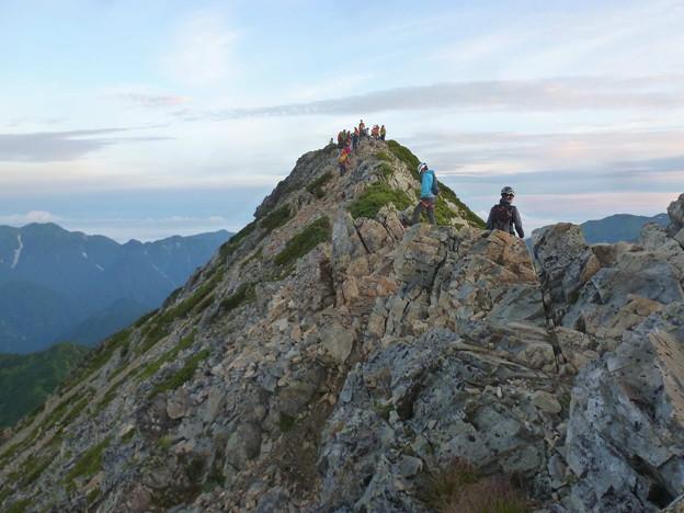 日本の山 剱岳を目指す!! 唐松岳から五竜岳 (4)