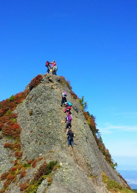 日本の山 アドバンストコース 八海山・八ツ峰縦走 (16)