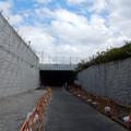 キャンプ座間の下の隧道