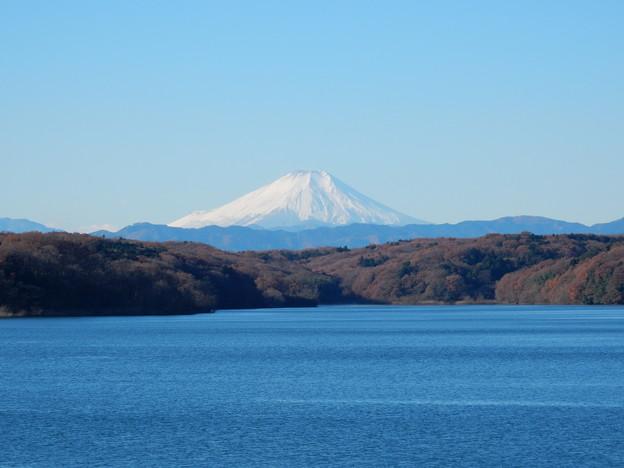 狭山湖富士山