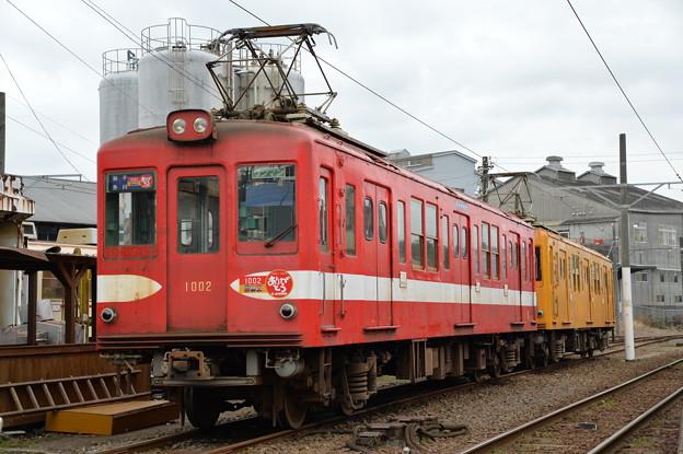 銚子電鉄 デハ1002