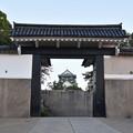 大阪城 桜門から見る天守閣