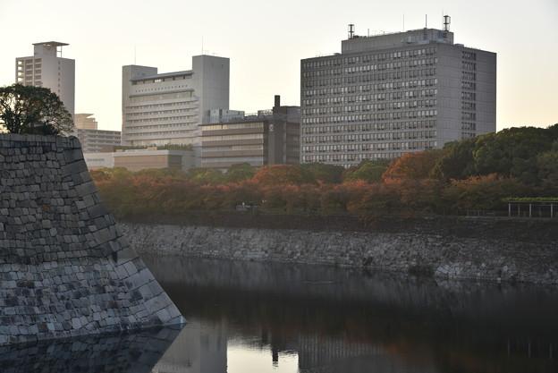 写真: 大阪城 大手門付近からの風景