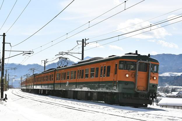 Photos: 上越線普通列車 731M (115系) (D500版)