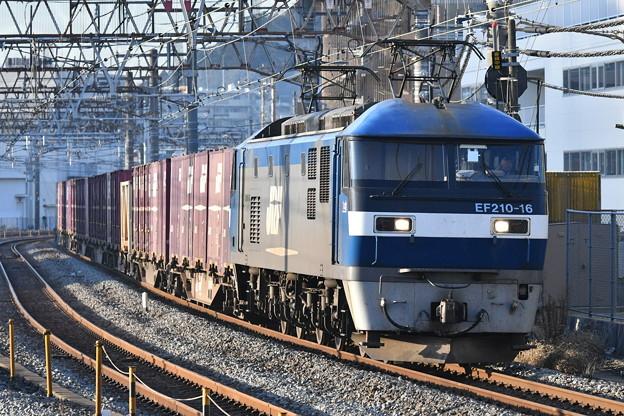 貨物列車 (EF210-16)