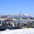 原別漁港と東岳ー1