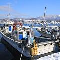 原別漁港と東岳ー2