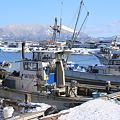 原別漁港と東岳ー3