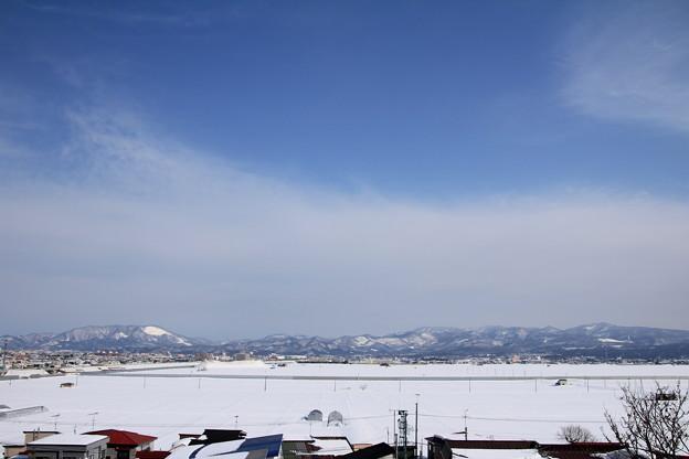 雪原と東岳ー3