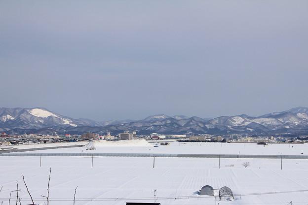 雪原と東岳ー2