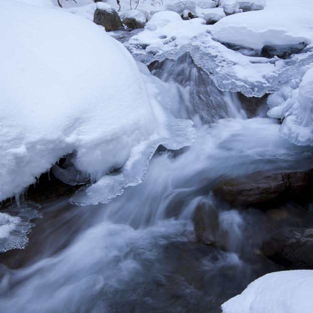 冷たい湯川