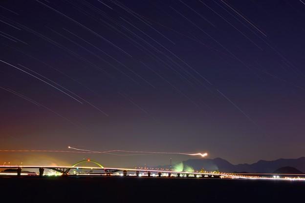 廻る夜空の橋