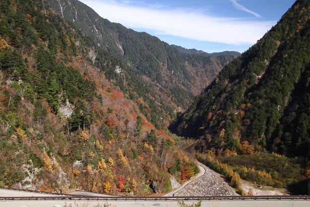高瀬渓谷の紅葉4