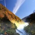 高瀬渓谷の紅葉5