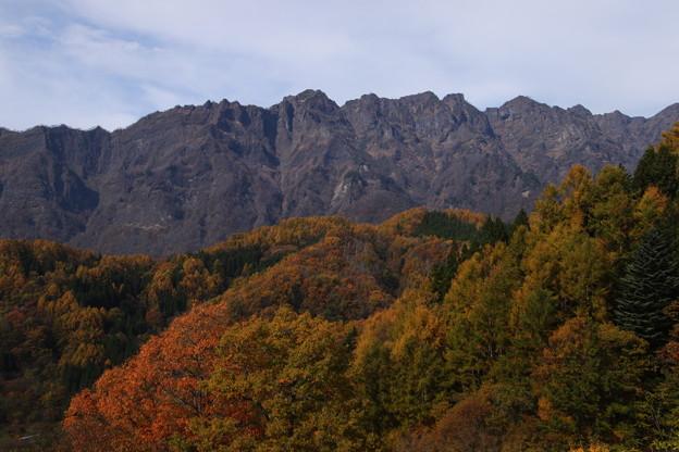 秋の戸隠岳(大望峠)