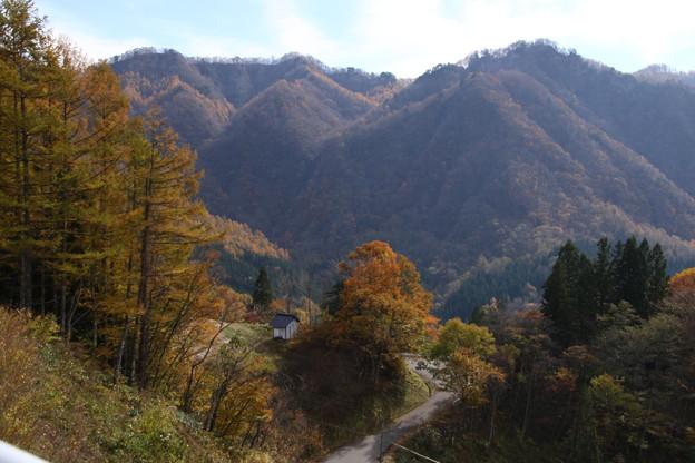 大望峠の秋の眺望1