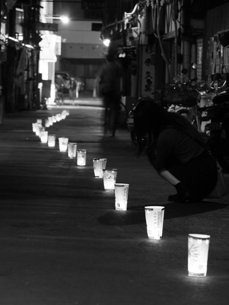 尾道灯りまつり2017 横道