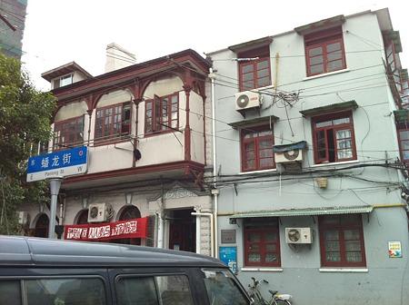上海市内裏通り