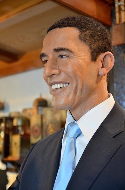 バラク・オバマ大統領(の、ろう人形)