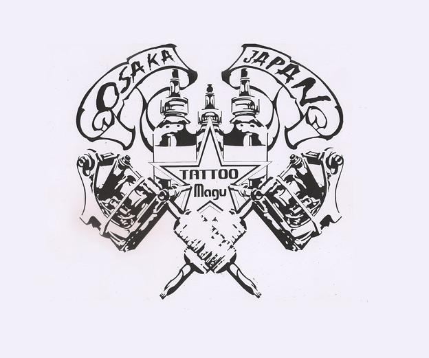 Photos: 刺青 大阪 タトゥースタジオ tattoomagu logo