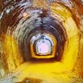 写真: アプトの道_第5号トンネル
