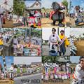 写真: 千丁町「女相撲」collage